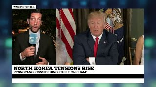 US   North Korea Tensions   Trump is going the furthest he can vis à vis Pyongyang