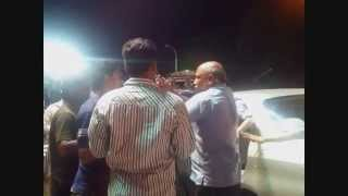 Road Fight , Brawl on Tankbund, Hyderabad!! FAMILY MAN vs THE YOUTH