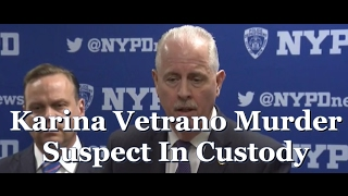NYPD Press Conference Announcing Capture Of Karina Vetrano Murder Suspect Chanel Lewis |