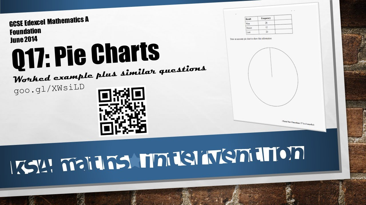 Q17 pie charts maths foundation non calculator gcse edexcel june q17 pie charts maths foundation non calculator gcse edexcel june 2014 youtube nvjuhfo Choice Image