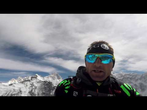 Ueli Steck's Everest-Lhotse project