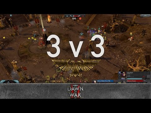Dawn of War 2 - Faction Wars 2017 | Space Marines vs Tyranids #2