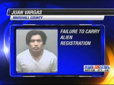 Illegal Alien Child Rapist Caught by New Alabama Immigration Law