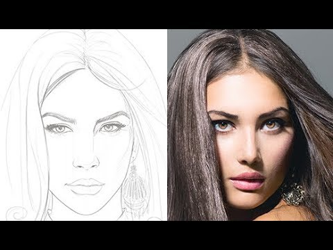 creating-a-pencil-portrait-illustration-from-reference