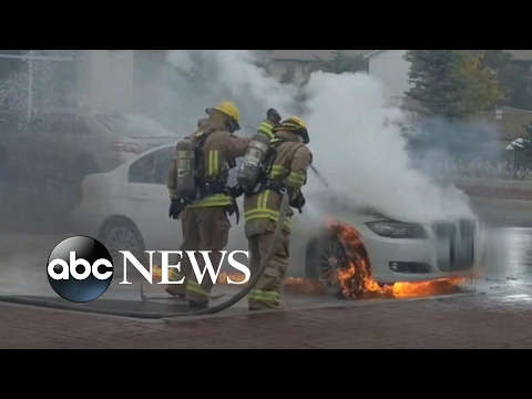 BMW mystery fires: Parked cars have burst into flames