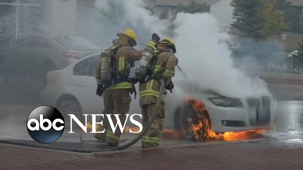Bmw Mystery Fires Parked Cars Have Burst Into Flames