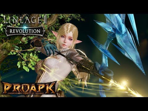 Lineage2 Revolution iPhone 6 Plus Gameplay - Elite Dungeon Quest (Max Settings)