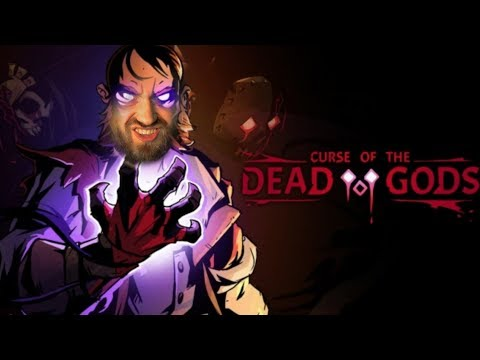 RPG Roguelike In The Same Art Style As Darkest Dungeon - Curse Of The Dead Gods