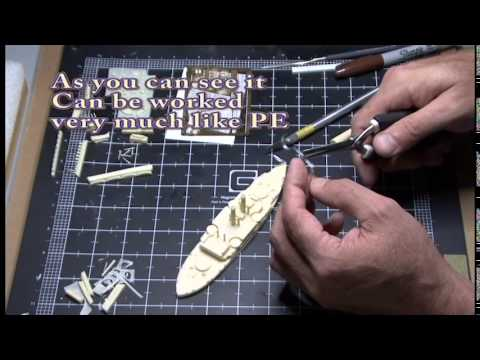 Photo Etch tips (Resin Ship modeling) Part 1 Railings