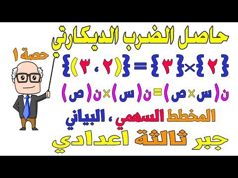 شرح جبر ثالثة اعدادي ترم 1