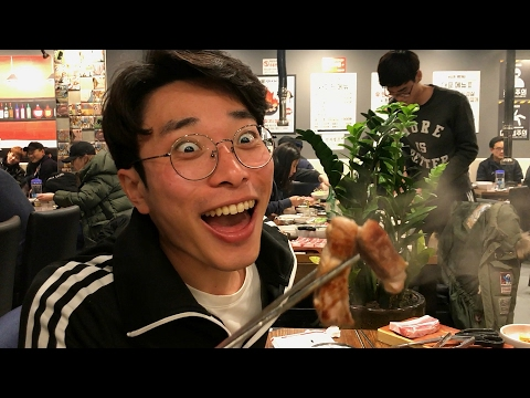 ALL YOU CAN EAT BUFFET(?) FOR 10 BUCKS! [Seoul City Vibes EP. 22]