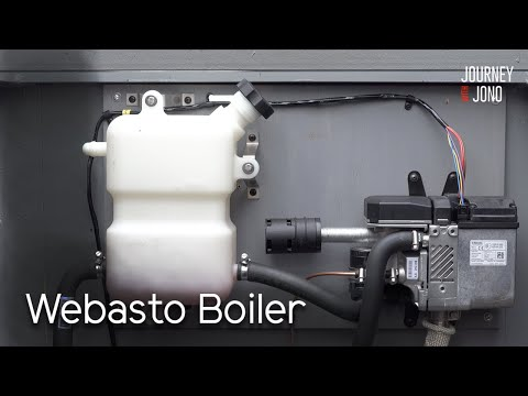 22. Narrowboat Central Heating Install Webasto Thermo Top C Boiler