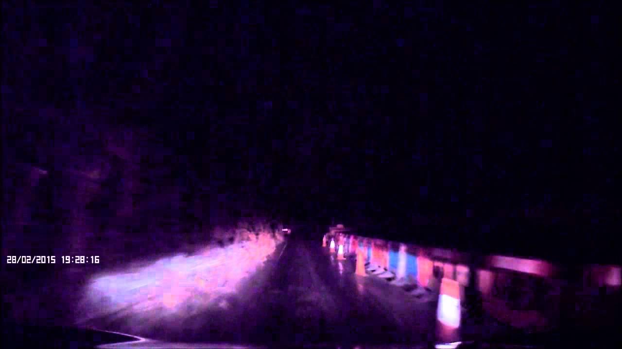 Nextbase In Car Dash Cam 202 Lite - Dark Country Lane Clip - YouTube