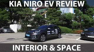 Kia Niro EV interior & space review