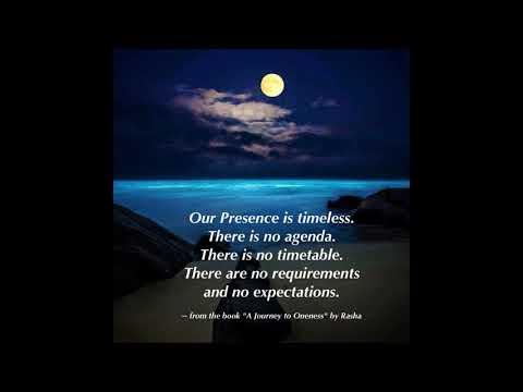 Oneness The Meditations with Rasha