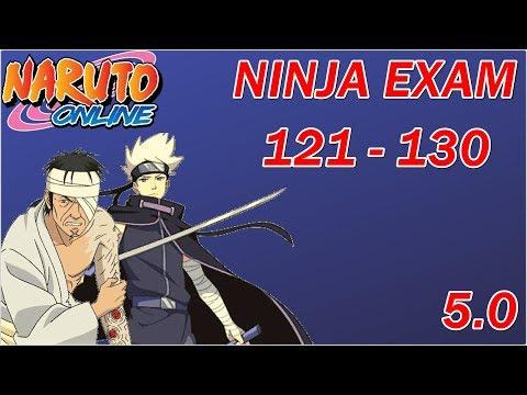 Naruto Online 5.0: Ninja Exam 121 - 130   Lightning Main (Midnight Blade)