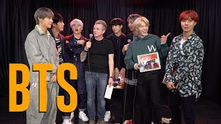 BTS Talks 'Mic Drop' Remix, What To Expect In 2018, BTS Army and more!