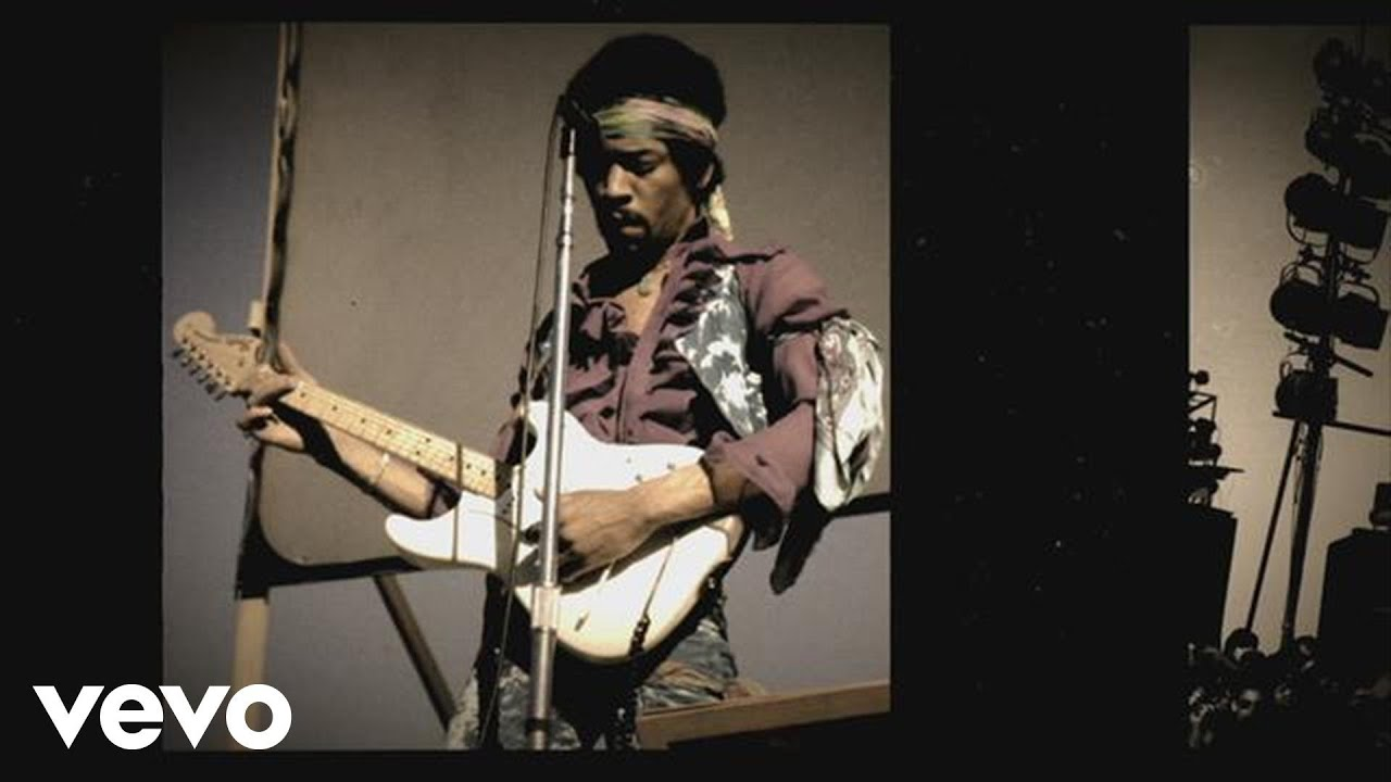 Jimi Hendrix - Red House - Santa Clara 1969 - YouTube