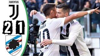 Juventus 2x1 Sampdoria | Melhores momentos Campeonato Italiano 29/12/2018