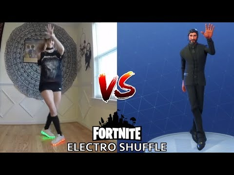 [DANCE] ELECTRO SHUFFLE | IN REAL LIFE ► FORTNITE