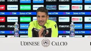 Empoli Udinese, la conferenza di Velazquez 10 11 18