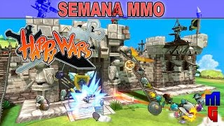 Happy Wars! - Bizarro e Viciante!! Semana MMO!!!
