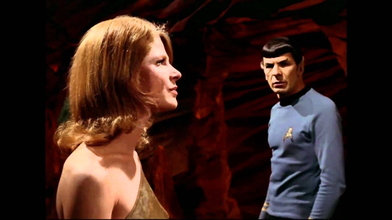 The love story of Spock and Zarabeth - YouTube