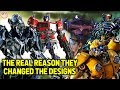 Why The Transformers Cybertronian Designs Are Different - Bumblebee Movie (2018)