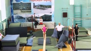 Савватеева Аня (2007 г.р) бревно (6 лет) ноябрь 2013
