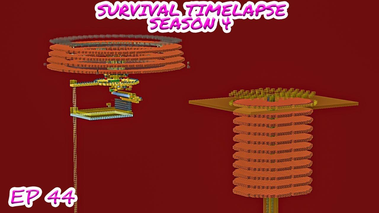 Another MEGA Gold Farm | Minecraft Survival Timelapse Season 4 Episode 44