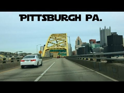Driving Into Pittsburgh Pa