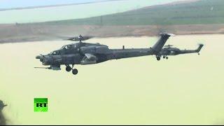 Учения ВДВ с участием Черноморского флота и ВКС начались в Крыму