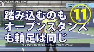 11「振り込み足と軸足の関係」_増田健太郎プロDVD
