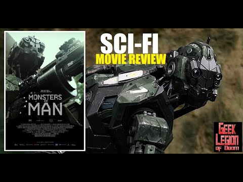 Download MONSTERS OF MAN ( 2020 Neal McDonough ) Robot Rampage Sci-fi Movie Review