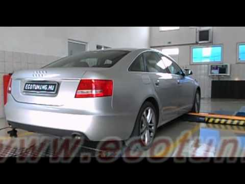 audi a6 2 7tdi chiptuning dyno referencia youtube. Black Bedroom Furniture Sets. Home Design Ideas