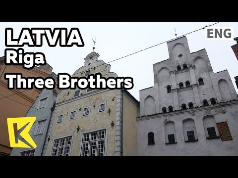 【K】Latvia Travel-Riga[라트비아 여행-리가]삼형제 건물/Three Brothers/Style of building/Window/Middle Ages