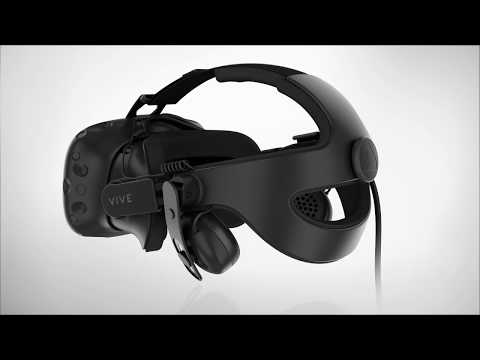 VIVE - Replacing the VIVE headset strap with the VIVE Deluxe Audio Strap
