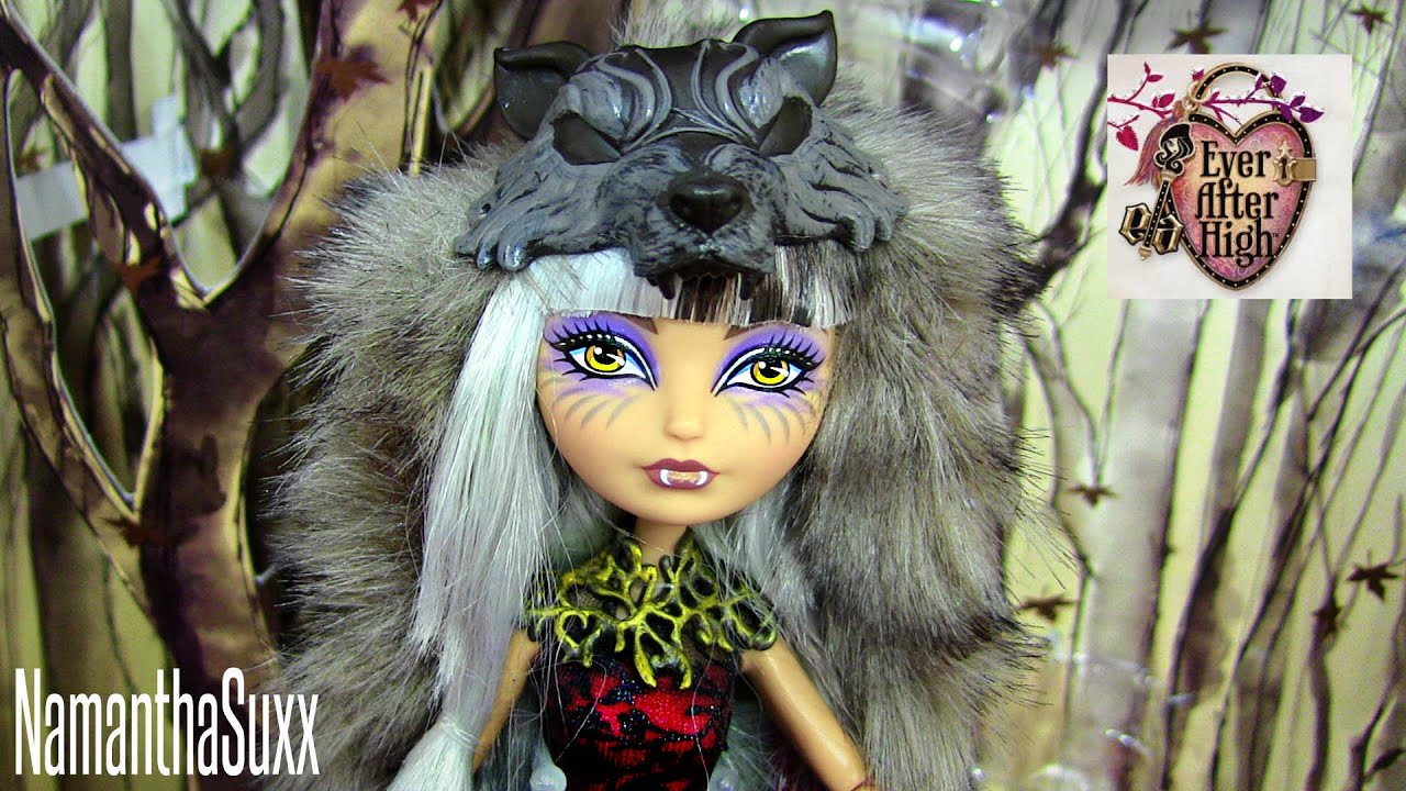EVER AFTER HIGH CERISE WOLF SDCC 2014 DOLL REVIEW VIDEO ...