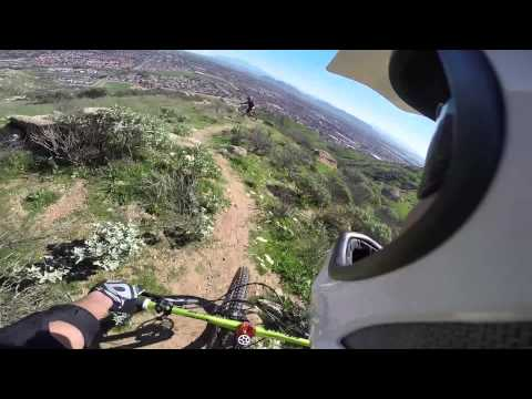 M-Trail at moreno valley mountain biking