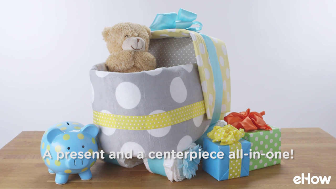 How to make a baby carriage diaper cake youtube how to make a baby carriage diaper cake baditri Gallery