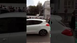 Последствия сильного ДТП на ул. Герцена (21.08.2017)