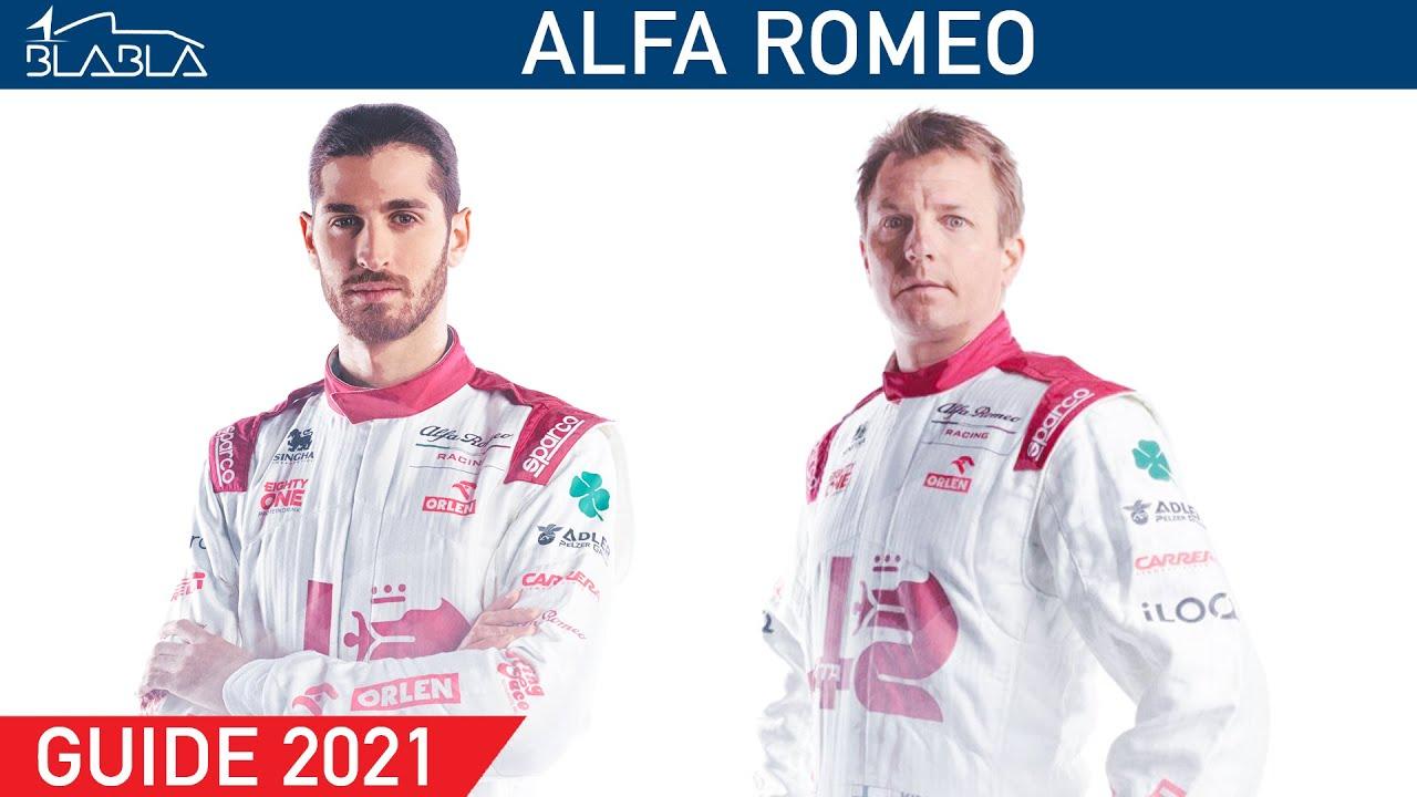 GUIDE 2021 : Alfa Romeo | Kimi Räikkönen | Antonio Giovinazzi