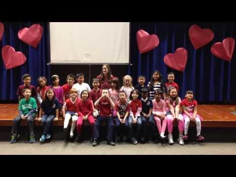 Cherrywood elementary school 2014 Happy Valentine's Day
