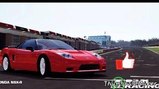 Corrida com honda nsx-R no real racing 3