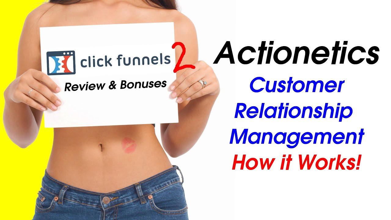 Clickfunnels Review - Actionetics Walkthrough - Email and Text Marketing with Clickfunnels Suite