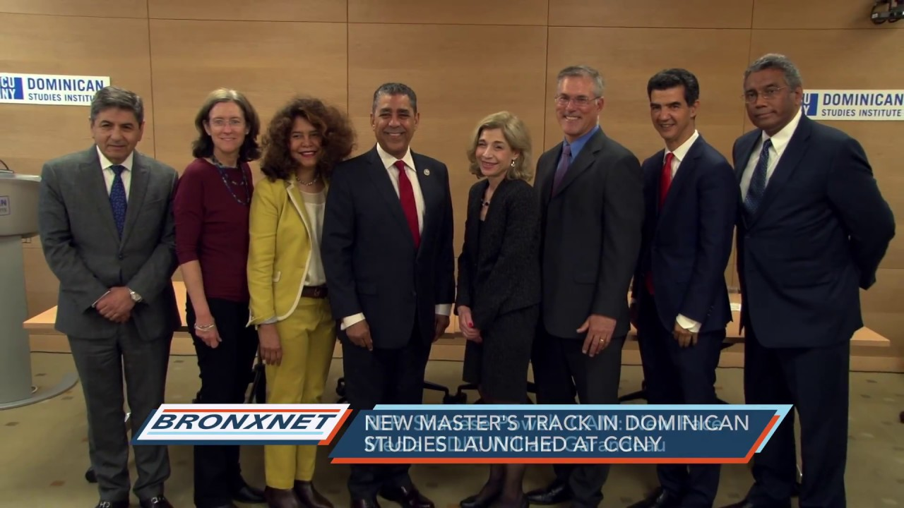 New Master's Track in Dominican Studies Launched at CCNY