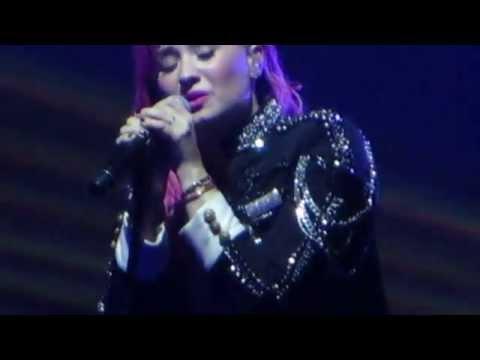 Demi Lovato- emotional 'Nightingale'- Nassau Coliseum 3/11/14