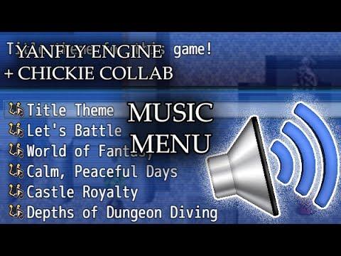 YEP.142 - Music Menu - RPG Maker MV