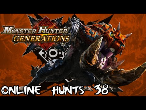 "Monster Hunter Generations - Online Hunts 38: Drilling some...""Coal!?"" (Drilltusk I-III)"