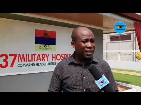 The Burns Unit is a critical part of the 37 military hospital - Senyo Hosi
